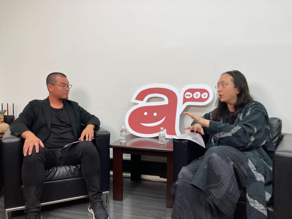 awoo 創辦人暨執行長 林思吾 與 唐鳳 對談